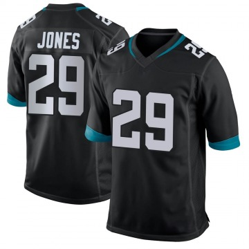 Youth Nike Jacksonville Jaguars Josh Jones Black Jersey - Game