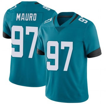 Youth Nike Jacksonville Jaguars Josh Mauro Teal Vapor Untouchable Jersey - Limited