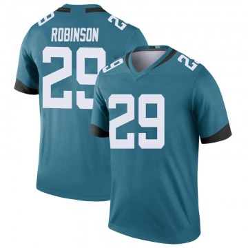 Youth Nike Jacksonville Jaguars Josh Robinson Teal Color Rush Jersey - Legend