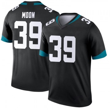 Youth Nike Jacksonville Jaguars Joshua Moon Black Jersey - Legend