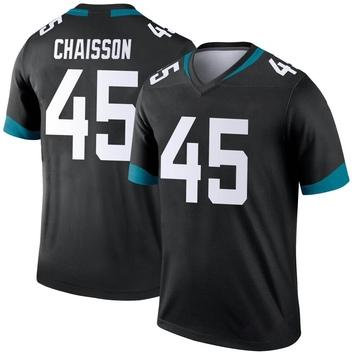 Youth Nike Jacksonville Jaguars K'Lavon Chaisson Black Jersey - Legend