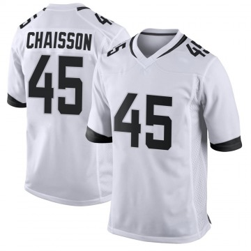 Youth Nike Jacksonville Jaguars K'Lavon Chaisson White Jersey - Game