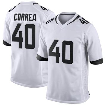 Youth Nike Jacksonville Jaguars Kamalei Correa White Jersey - Game