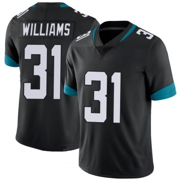 Youth Nike Jacksonville Jaguars Kobe Williams Black 100th Vapor Untouchable Jersey - Limited