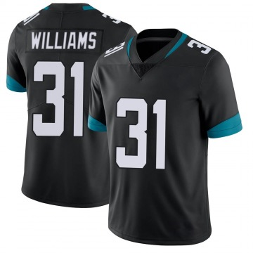 Youth Nike Jacksonville Jaguars Kobe Williams Black Vapor Untouchable Jersey - Limited