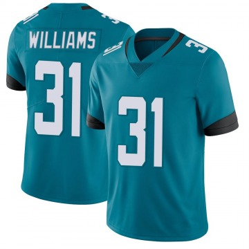 Youth Nike Jacksonville Jaguars Kobe Williams Teal Vapor Untouchable Jersey - Limited
