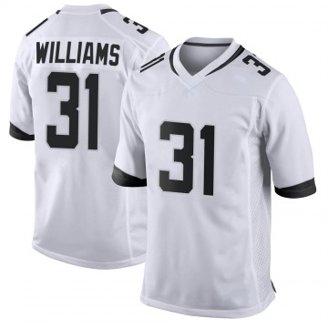 Youth Nike Jacksonville Jaguars Kobe Williams White Jersey - Game