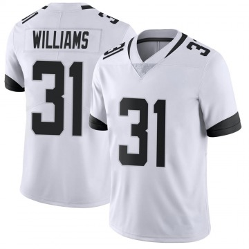 Youth Nike Jacksonville Jaguars Kobe Williams White Vapor Untouchable Jersey - Limited