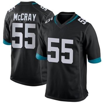 Youth Nike Jacksonville Jaguars Lerentee McCray Black Alternate Jersey - Game
