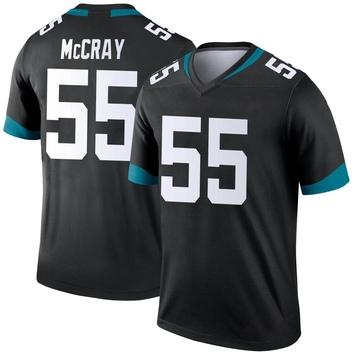 Youth Nike Jacksonville Jaguars Lerentee McCray Black Jersey - Legend