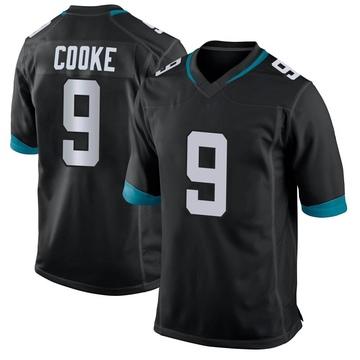 Youth Nike Jacksonville Jaguars Logan Cooke Black Alternate Jersey - Game