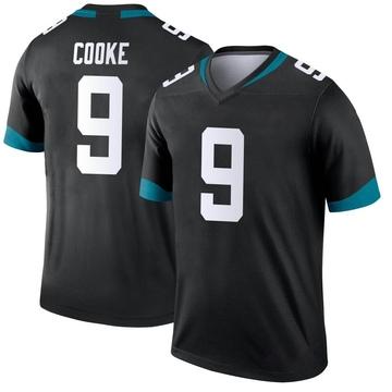 Youth Nike Jacksonville Jaguars Logan Cooke Black Jersey - Legend