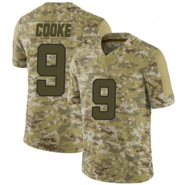 Youth Nike Jacksonville Jaguars Logan Cooke Camo 2018 Salute to Service Jersey - Limited
