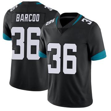 Youth Nike Jacksonville Jaguars Luq Barcoo Black Vapor Untouchable Jersey - Limited