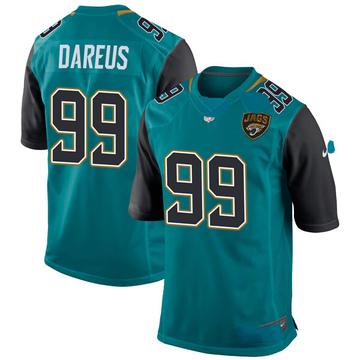 Youth Nike Jacksonville Jaguars Marcell Dareus Teal Team Color Jersey - Game