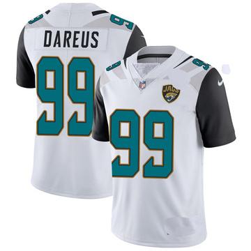 Youth Nike Jacksonville Jaguars Marcell Dareus White Vapor Untouchable Jersey - Limited