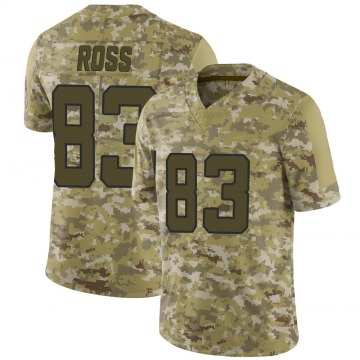Youth Nike Jacksonville Jaguars Marvelle Ross Camo 2018 Salute to Service Jersey - Limited