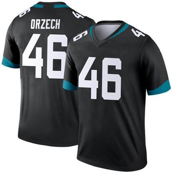Youth Nike Jacksonville Jaguars Matthew Orzech Black Jersey - Legend