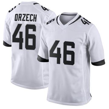Youth Nike Jacksonville Jaguars Matthew Orzech White Jersey - Game