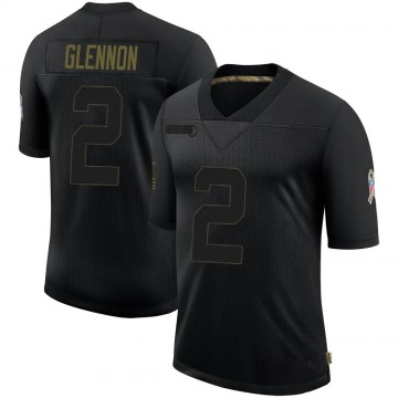 Youth Nike Jacksonville Jaguars Mike Glennon Black 2020 Salute To Service Jersey - Limited