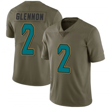 Youth Nike Jacksonville Jaguars Mike Glennon Green 2017 Salute to Service Jersey - Limited
