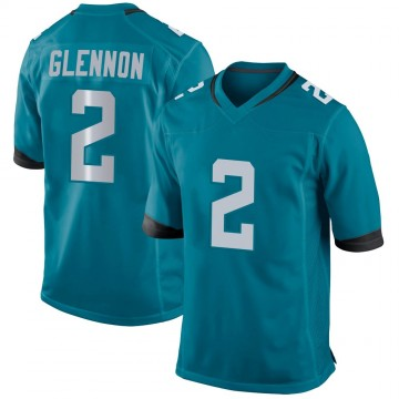 Youth Nike Jacksonville Jaguars Mike Glennon Teal Jersey - Game