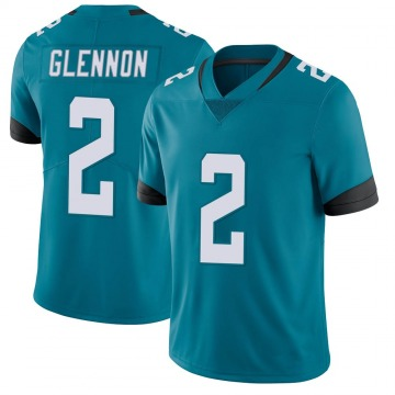 Youth Nike Jacksonville Jaguars Mike Glennon Teal Vapor Untouchable Jersey - Limited