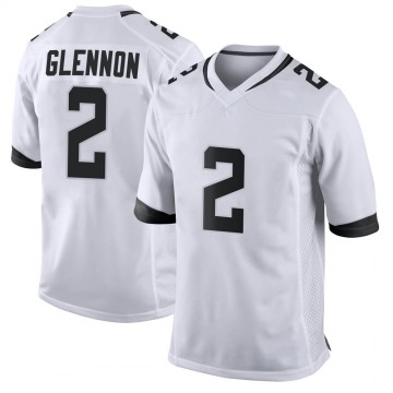 Youth Nike Jacksonville Jaguars Mike Glennon White Jersey - Game