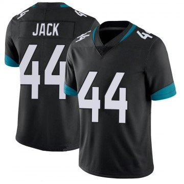 Youth Nike Jacksonville Jaguars Myles Jack Black 100th Vapor Untouchable Jersey - Limited
