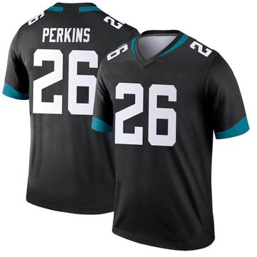 Youth Nike Jacksonville Jaguars Paul Perkins Black Jersey - Legend