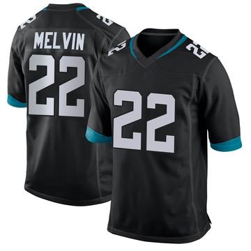 Youth Nike Jacksonville Jaguars Rashaan Melvin Black Jersey - Game