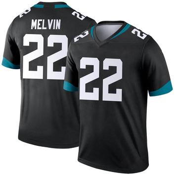 Youth Nike Jacksonville Jaguars Rashaan Melvin Black Jersey - Legend