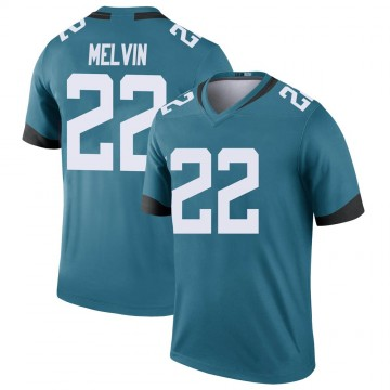 Youth Nike Jacksonville Jaguars Rashaan Melvin Teal Color Rush Jersey - Legend