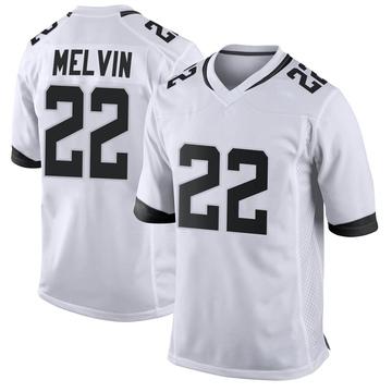 Youth Nike Jacksonville Jaguars Rashaan Melvin White Jersey - Game