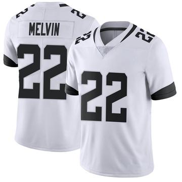 Youth Nike Jacksonville Jaguars Rashaan Melvin White Vapor Untouchable Jersey - Limited