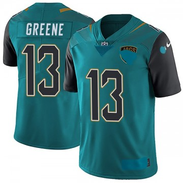 Youth Nike Jacksonville Jaguars Rashad Greene Green Teal Vapor Untouchable Team Color Jersey - Limited