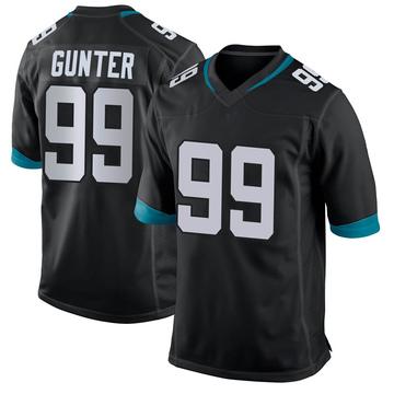 Youth Nike Jacksonville Jaguars Rodney Gunter Black Jersey - Game