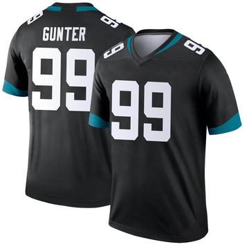 Youth Nike Jacksonville Jaguars Rodney Gunter Black Jersey - Legend