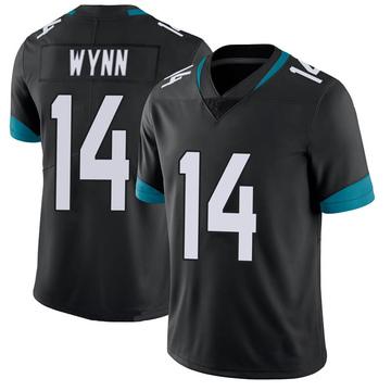Youth Nike Jacksonville Jaguars Shane Wynn Black 100th Vapor Untouchable Jersey - Limited