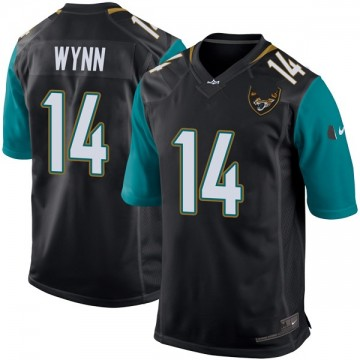 Youth Nike Jacksonville Jaguars Shane Wynn Black Alternate Jersey - Game