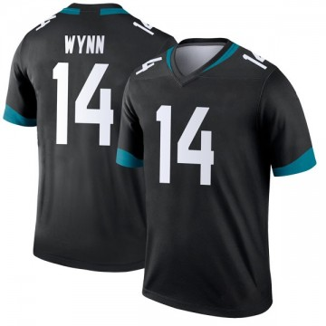 Youth Nike Jacksonville Jaguars Shane Wynn Black Jersey - Legend