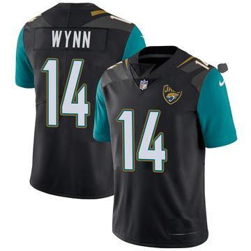 Youth Nike Jacksonville Jaguars Shane Wynn Black Vapor Untouchable Alternate Jersey - Limited