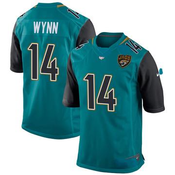 Youth Nike Jacksonville Jaguars Shane Wynn Teal Team Color Jersey - Game
