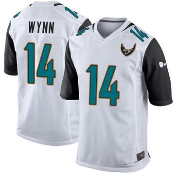 Youth Nike Jacksonville Jaguars Shane Wynn White Jersey - Game