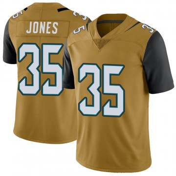 Youth Nike Jacksonville Jaguars Sidney Jones Gold Color Rush Vapor Untouchable Jersey - Limited