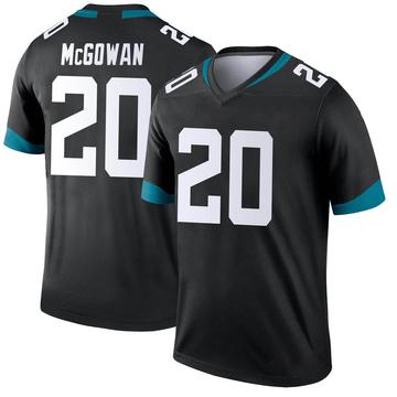 Youth Nike Jacksonville Jaguars Taj McGowan Black Jersey - Legend