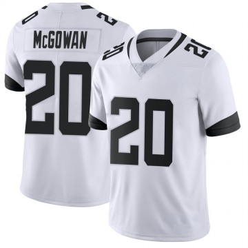 Youth Nike Jacksonville Jaguars Taj McGowan White Vapor Untouchable Jersey - Limited