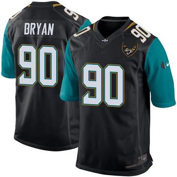 Youth Nike Jacksonville Jaguars Taven Bryan Black Alternate Jersey - Game