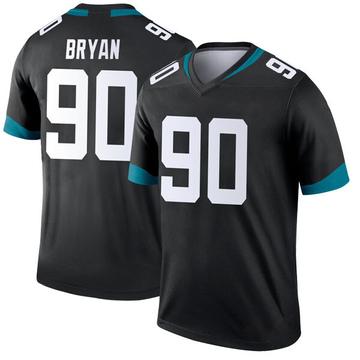 Youth Nike Jacksonville Jaguars Taven Bryan Black Jersey - Legend