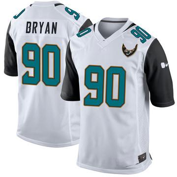 Youth Nike Jacksonville Jaguars Taven Bryan White Jersey - Game